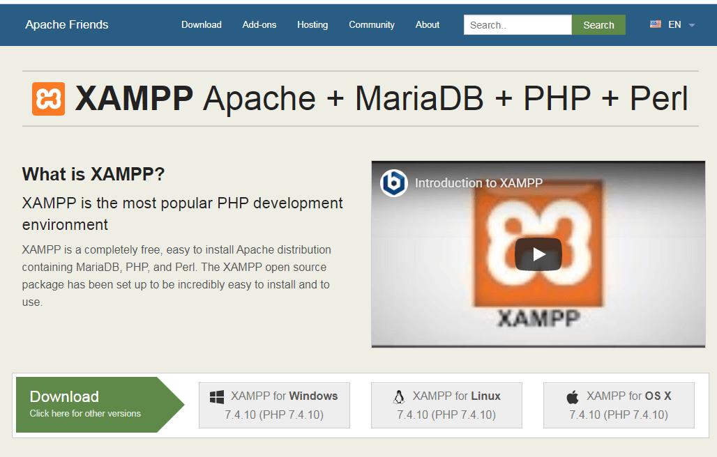 如何使用XAMPP搭建本地环境的WordPress网站