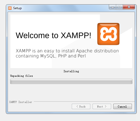 安装XAMPP