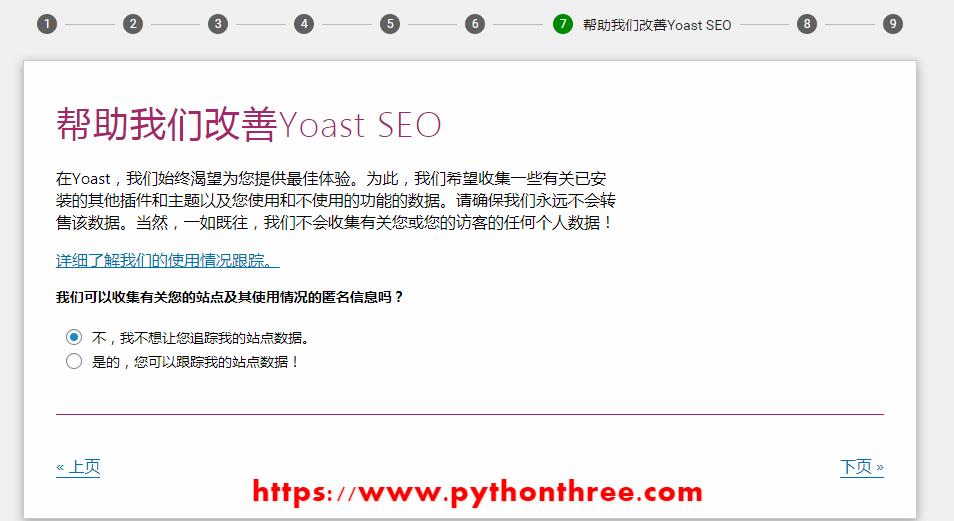 Yoast seo插件通知