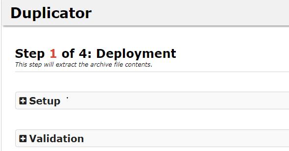 Duplicator使用教程-备份导入WordPress网站完整数据