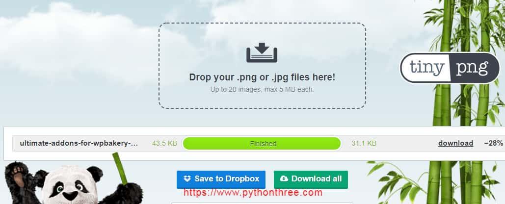 外贸网站图片压缩工具Tinypng