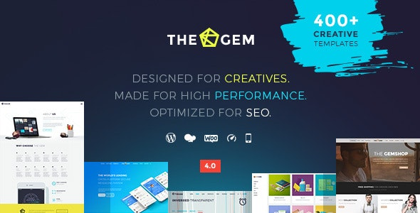 TheGem主题免费下载-创意多用途高性能WordPress主题