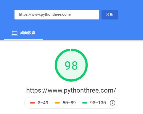 Google PageSpeed Insights检测网站速度