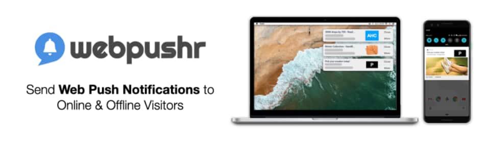 Webpushr WordPress推送通知插件