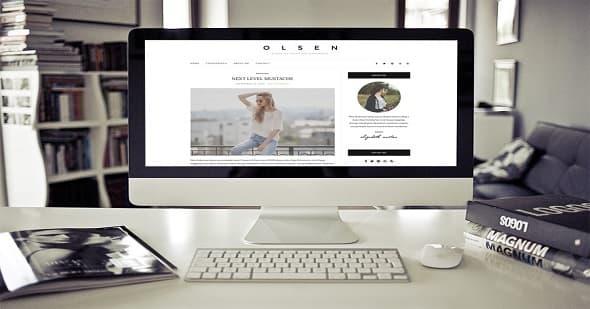 Olsen Light:响应式多用途WordPress主题免费下载