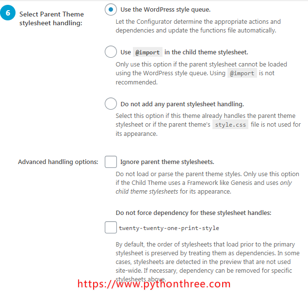WordPress子主题生成插件Child Theme Configurator插件教程
