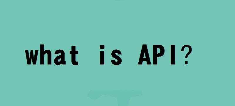 什么是API
