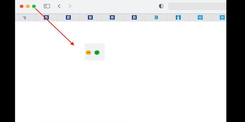 Mac上使用分屏