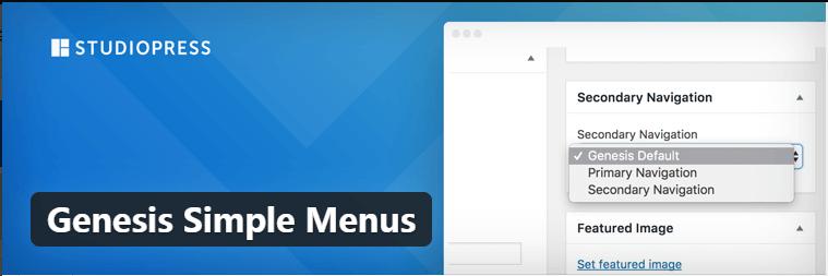 Genesis Simple Menu插件