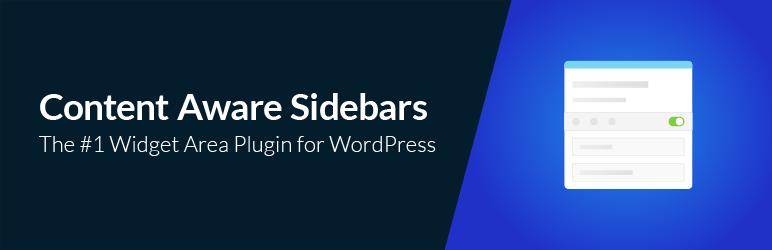 Content Aware Sidebars wordpress小部件插件
