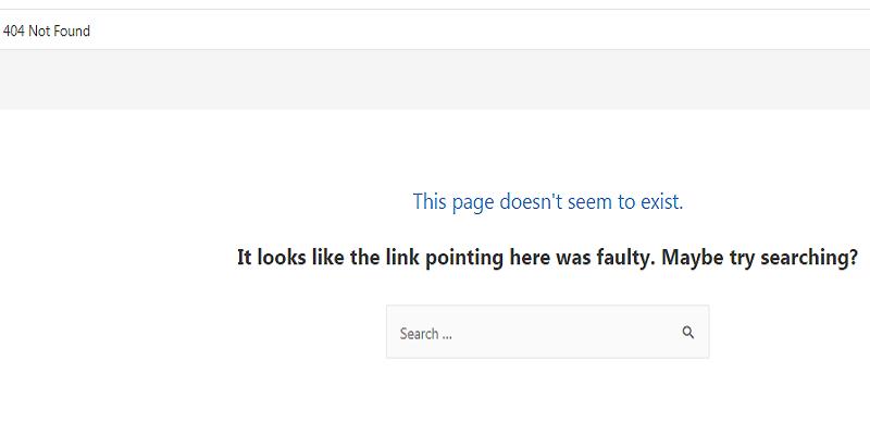 什么是404页面?