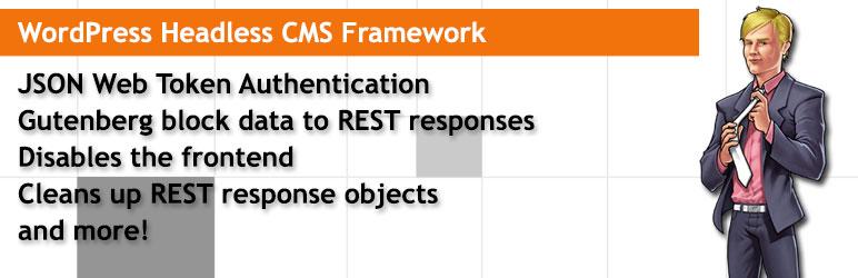 WP Headless CMS Framework wordpress无头插件