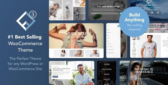 免费下载Flatsome:多用途响应式WordPress和WooCommerce主题