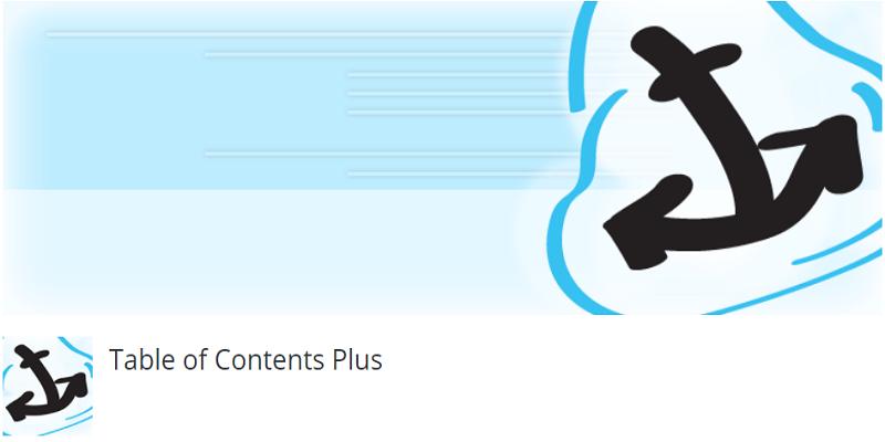WordPress文章目录插件Table of Contents Plus设置教程