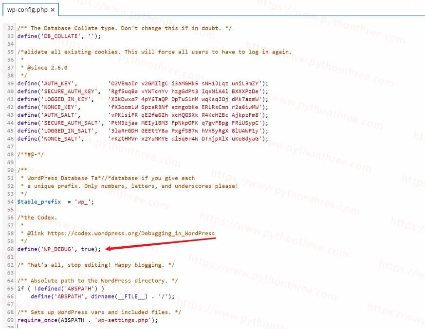 wp-config.php设置