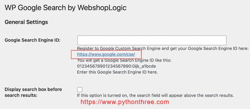 获取google search 搜索ID