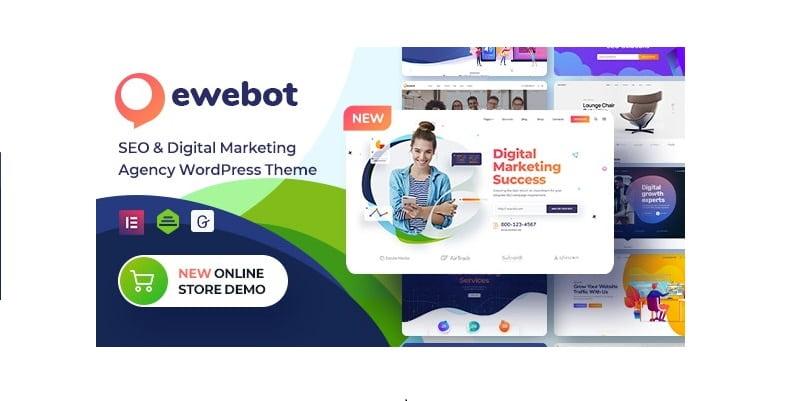 Ewebot免费下载WordPress SEO营销主题Ewebot