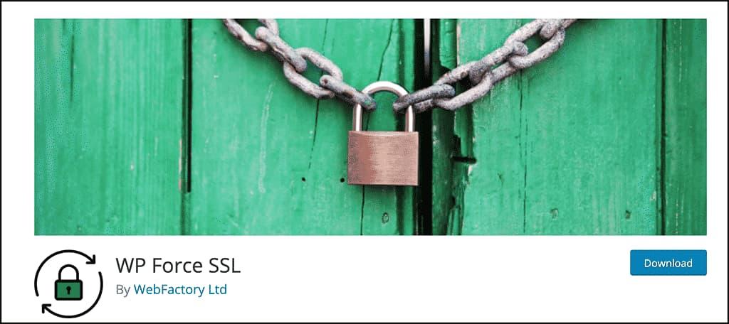 WP Force SSL插件