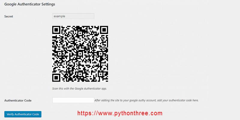 Google-authenticator设置二维码