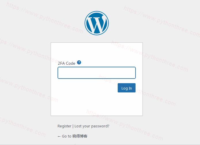 如何为wordpress网站添加双因素身份验证