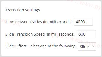 Genesis Responsive Slider插件过渡设置