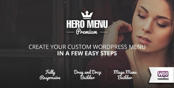Hero Menu免费下载v.1.15.6 响应式WordPress超级菜单插件