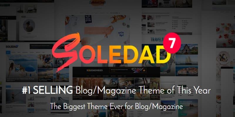 [最新]Soledad主题下载Soledad多用途WordPress博客主题