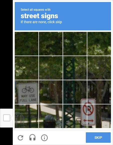 图像reCAPTCHA