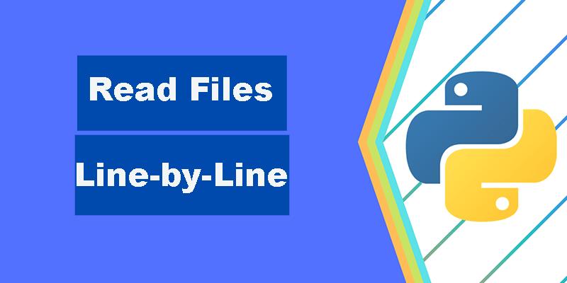 Python逐行读取文件四种方法