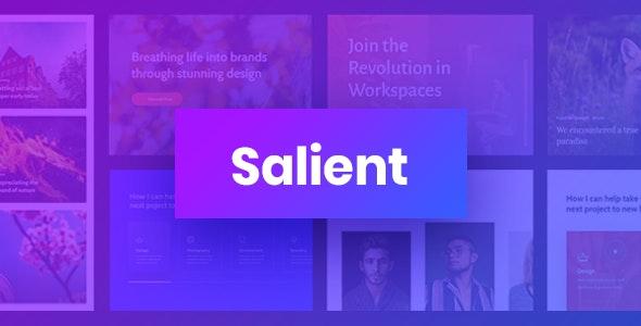免费下载Salient主题WordPress响应式多用途主题