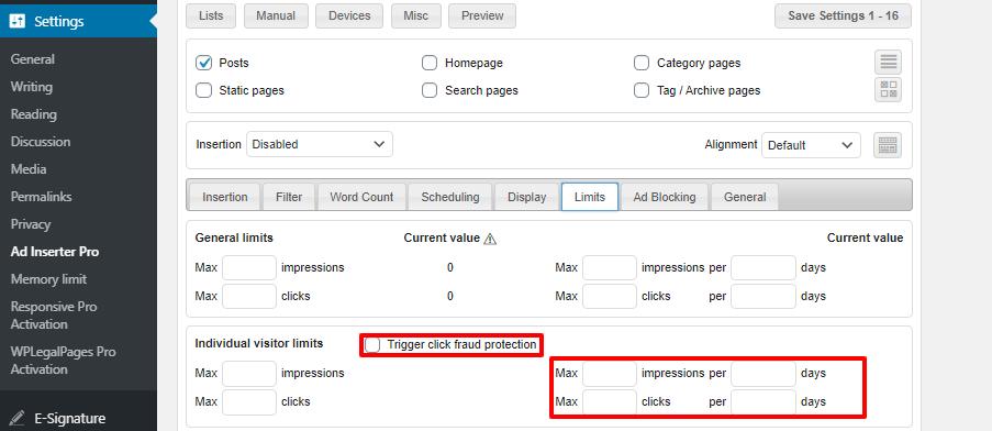 WordPress广告管理插件Ad Inserter Pro插件功能