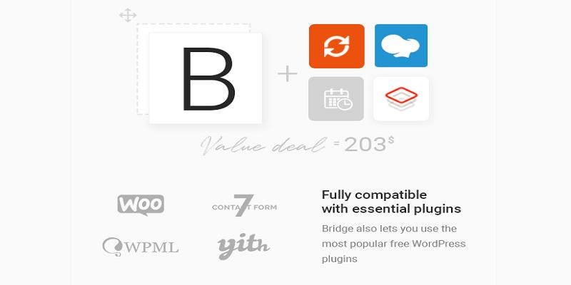 Bridge免费下载多用途创意类WordPress主题