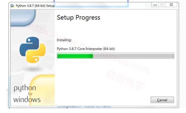Windows安装python过程