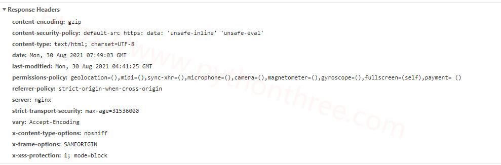 如何在Apache服务器配置HTTP Security Headers安全标头