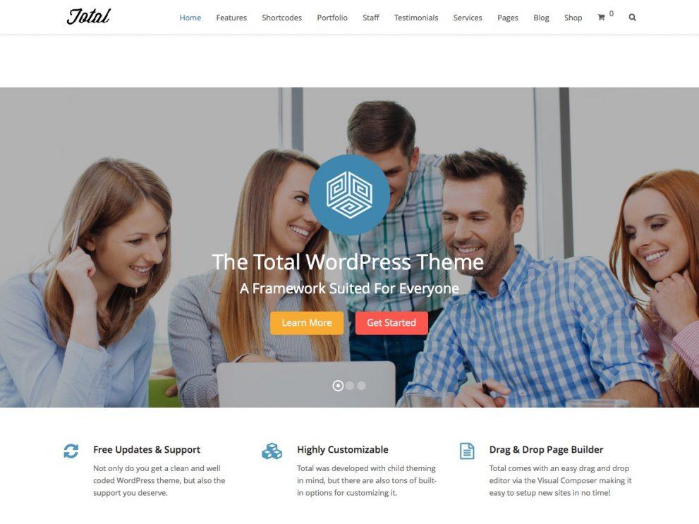 Total主题免费下载WordPress多用途主题