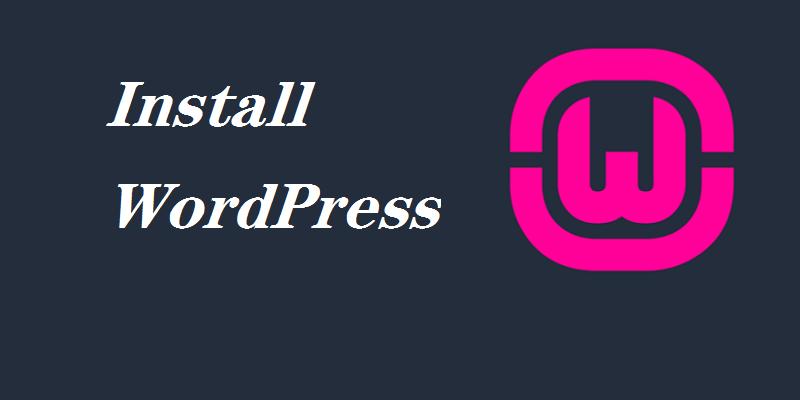 使用WAMP在Windows本地安装WordPress网站