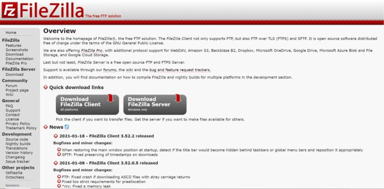 使用FTP客户端连接到您的服务器
