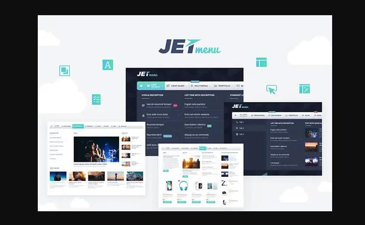 WordPress超级菜单插件JetMenu插件功能